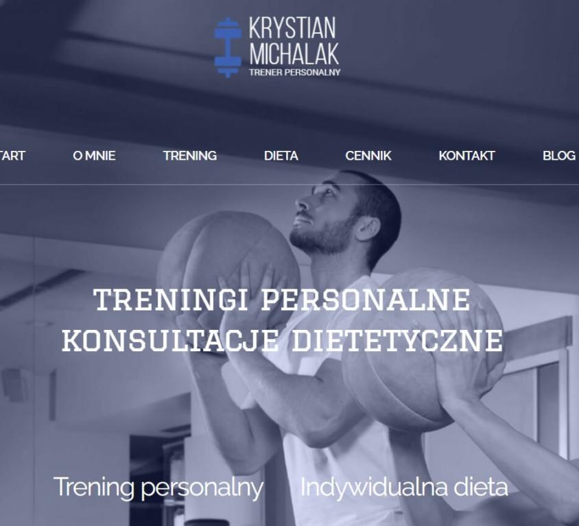Krystian Michalak – trener personalny